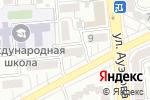 Схема проезда до компании Умный дом в Алматы