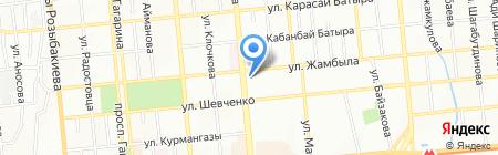 Ю-Тур Империя на карте Алматы