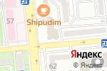 Схема проезда до компании Kontorra Records в Алматы