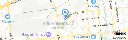 КазШинТорг на карте Алматы