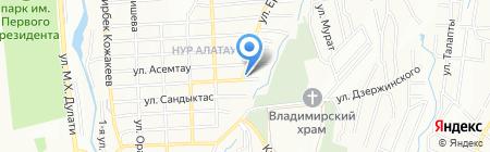 Транспортно-экспедиторская компания на карте Алатау