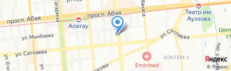 Стиль КН на карте Алматы