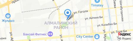 Изобилие на карте Алматы