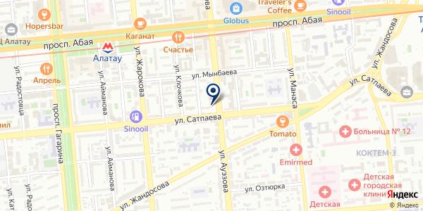 VoIPShop.kz на карте Алматы
