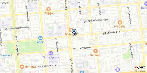 Holding Baylyk Kazyna на карте Алматы
