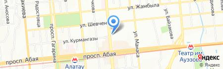 РТС на карте Алматы