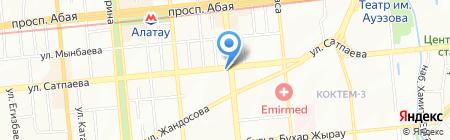 Империал на карте Алматы