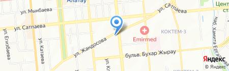 Сбербанк на карте Алматы