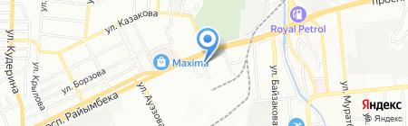 GENEXT на карте Алматы