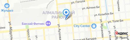 Башмачник на карте Алматы