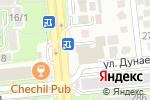 Схема проезда до компании Turandot в Алматы