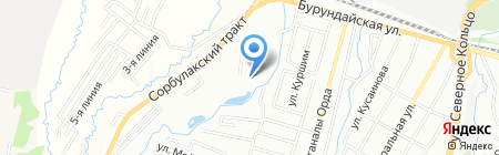Ran на карте Алматы
