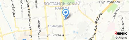 ЭнКо на карте Алматы