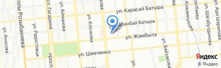 Asia Pro на карте Алматы