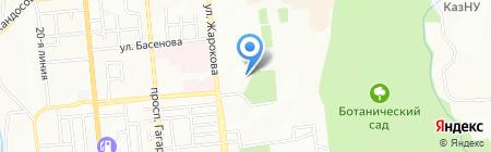 Айна на карте Алматы