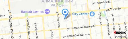 ALMA-TV на карте Алматы
