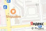 Схема проезда до компании Makey.kz в Алматы