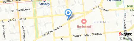 Магазин бытовой химии и хозяйственных товаров на карте Алматы