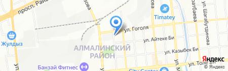 Штурм на карте Алматы