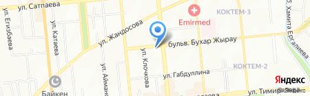 Панорама Люкс на карте Алматы