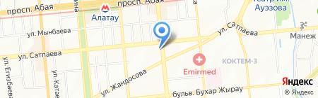 Melissa на карте Алматы