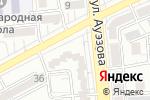 Схема проезда до компании BEERлога G в Алматы