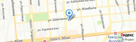 Французская пекарня на карте Алматы