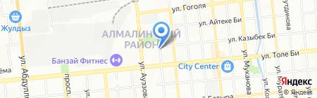 Shar-Land на карте Алматы