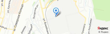 Тизол-Казахстан на карте Алматы
