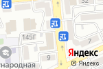 Схема проезда до компании Intranscom в Алматы