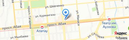 Burger King на карте Алматы