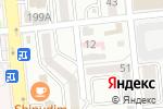 Схема проезда до компании ОКСИ Продактс КАЗ, ТОО в Алматы