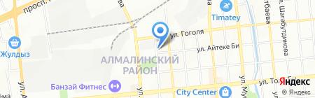 Д.А.М.А на карте Алматы