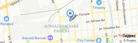 Dvorniki.kz на карте Алматы