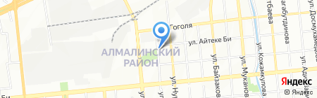 Харбин на карте Алматы