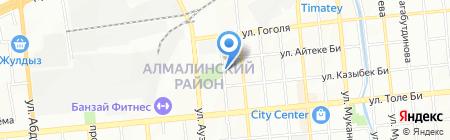 N`Kora design на карте Алматы