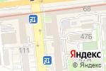Схема проезда до компании Bailyk в Алматы