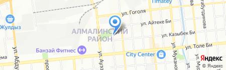 Aruahoil на карте Алматы