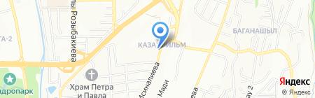 АЗС Sonar на карте Алматы