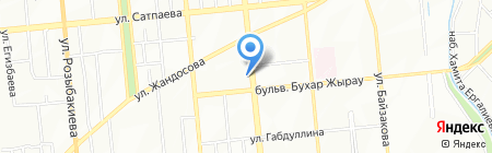 Балтийская мебель на карте Алматы
