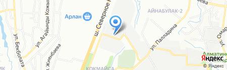 Bata Trans на карте Алматы
