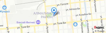 Модистка на карте Алматы