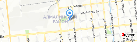 Giansar на карте Алматы