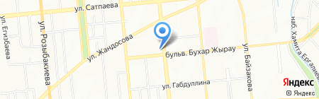 Адмирал на карте Алматы