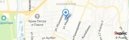 Орбит на карте Алматы