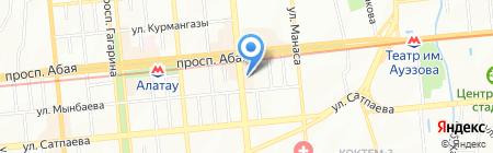 Сервис Безопасности на карте Алматы