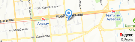 LEM на карте Алматы