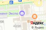Схема проезда до компании Standard Insurance в Алматы