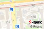Схема проезда до компании Gala Translations в Алматы