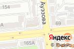 Схема проезда до компании Адмирал в Алматы